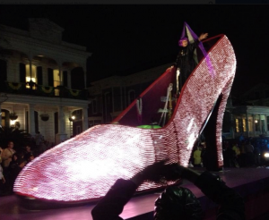 Muses signature fiber optic shoe float.